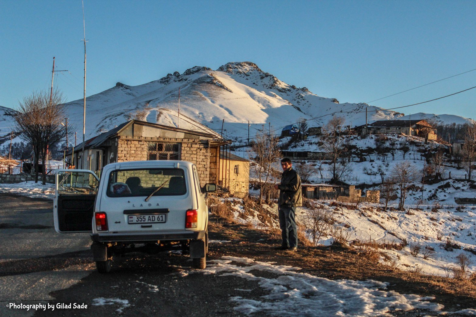 Winter travel in Nagorno Karabakh