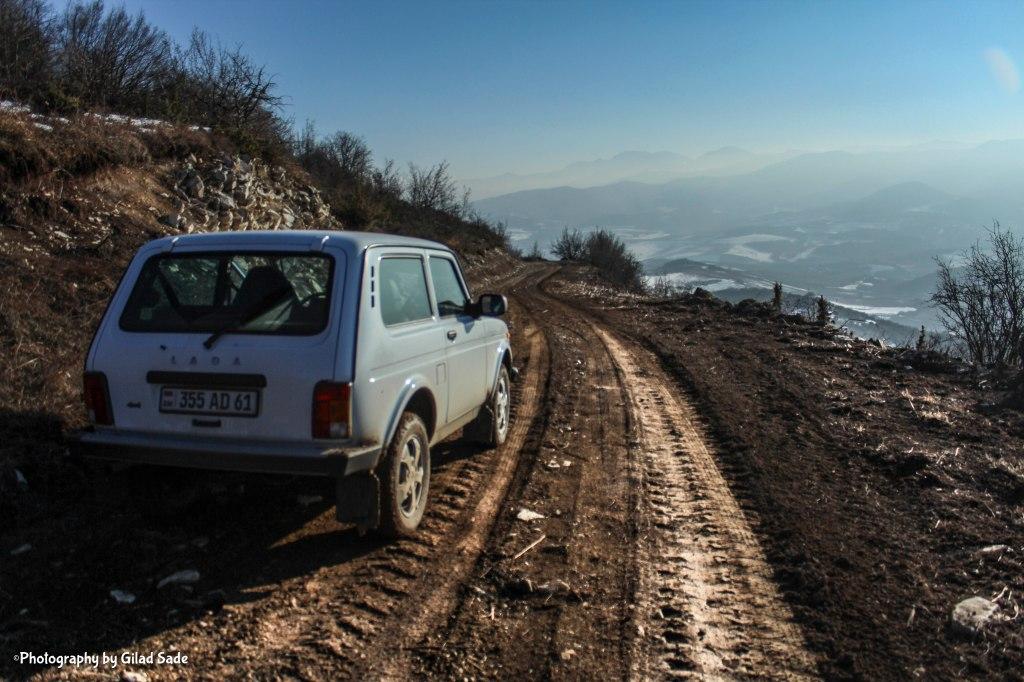 Jeep travel in Nagorno Karabakh
