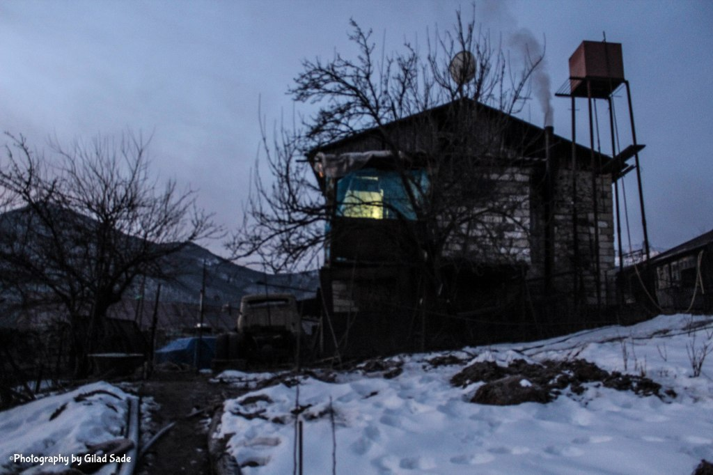 Karine and Spartak Guesthouse in Nagorno Karabakh