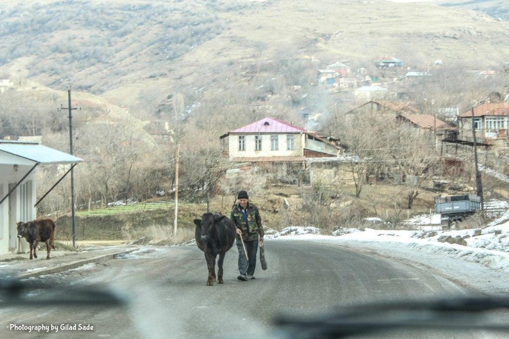 Farmer in Hadrut Region Nagorno Karabakh